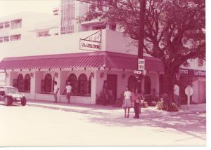 El Comedor's first location in Manila (1975)