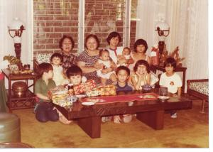 Mama with her grandchildren