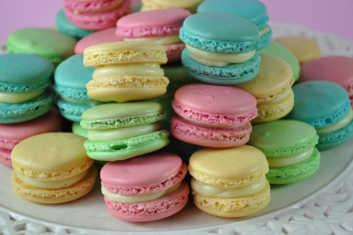 Up close and personal with the macaron