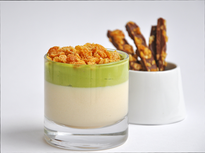 Cereal Milk Panna Cotta from Momofuku | Trissalicious