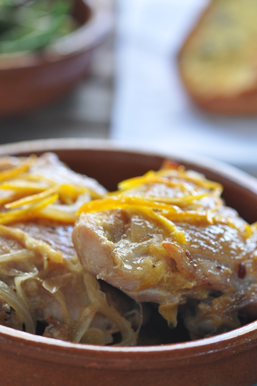 Chicken in Orange Sauce (Pollo a la Naranja) | Trissalicious