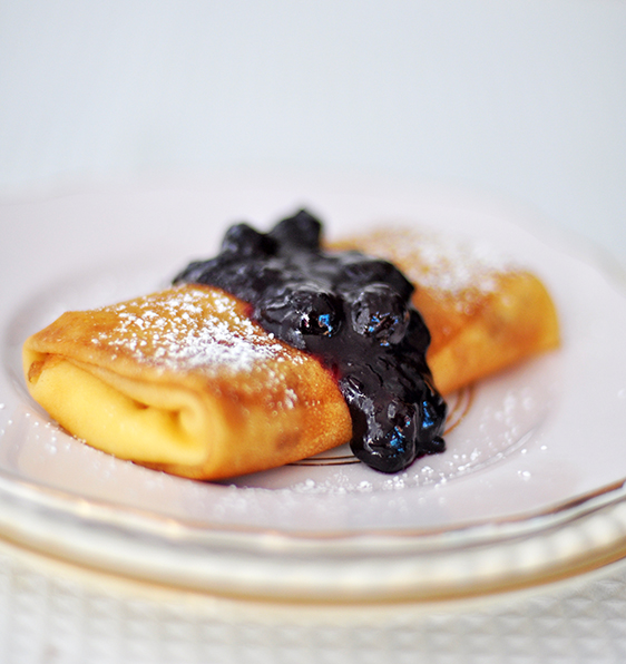 Blueberry and Orange Cheese Blintz & A Tribute to Mothers ...