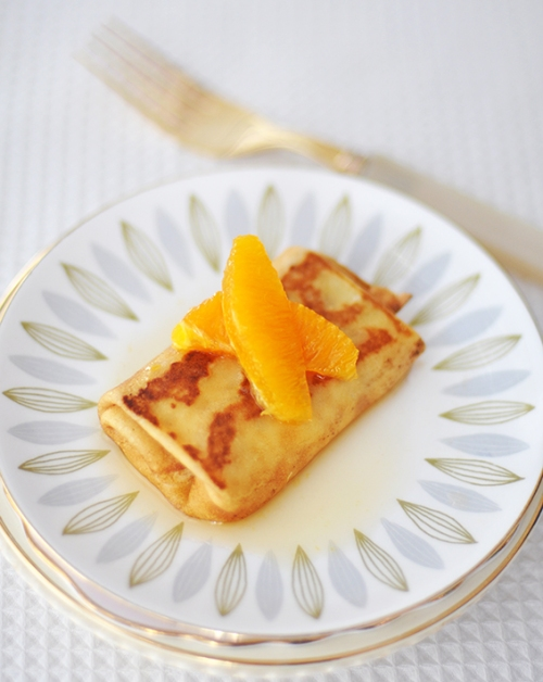 Orange Blintz