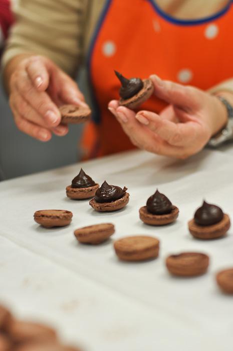 Chocolate Macarons at Essential Ingredient Sydney