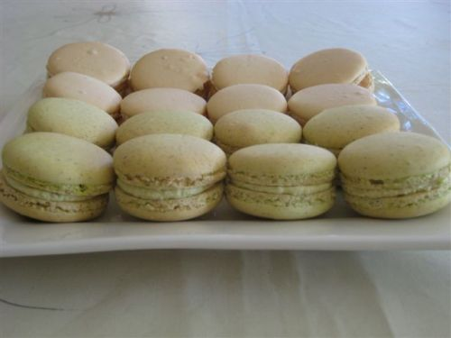 Macarons made at home by one of my students