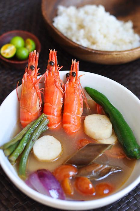 Shrimp Sinigang