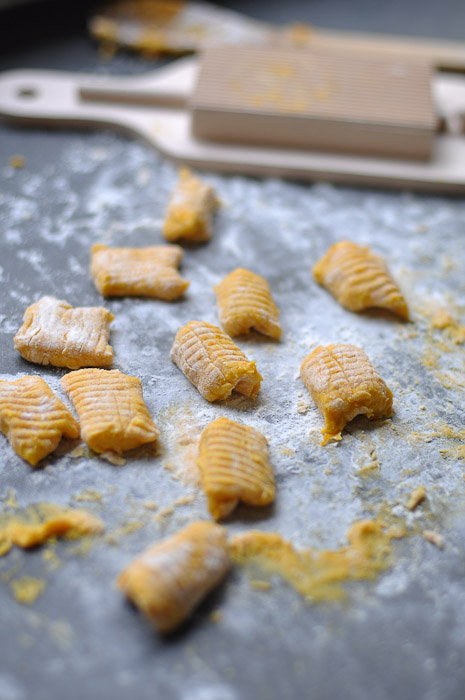 Pumpkin Gnocchi with Sage, Burnt Butter and Balsamic Vinegar