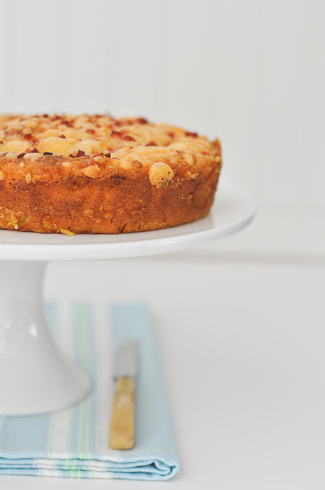 Bacon, Carrot and Cheese Cake