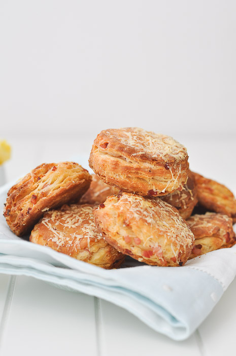 Bacon and Cheese Biscuits