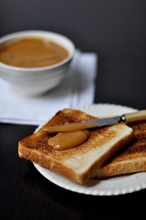Coconut Custard Jam on toast