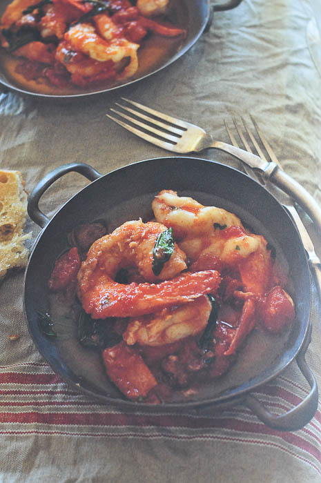 Garlic Prawns (Photo from Family Italian)