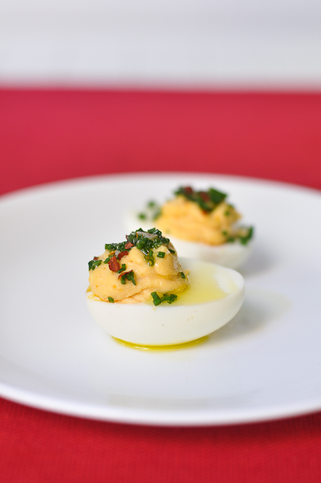 Spotted Pig Deviled Eggs