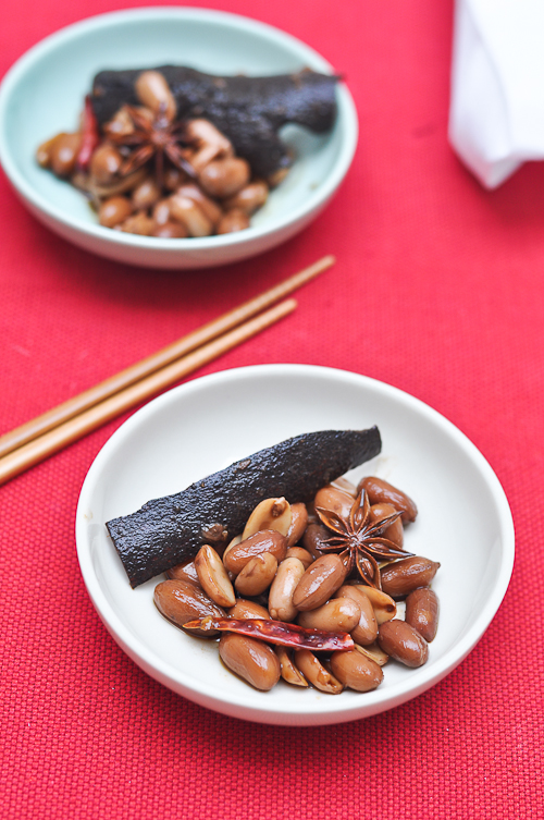 Chinese Style Braised Peanuts