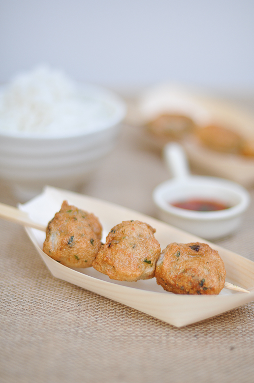 Homemade Prawn Balls