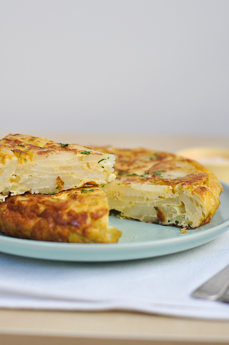 Spanish Potato Omelet Recipe — Dishmaps