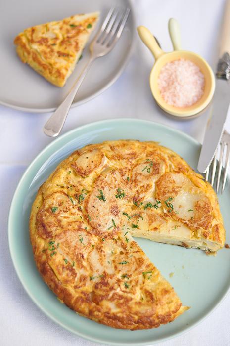 Tortilla Española (Spanish Potato Omelette)