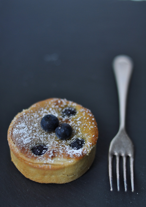 Blueberry and Pistachio Tart