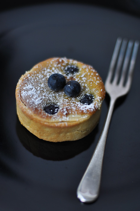 Blueberry and Pistachio Tart