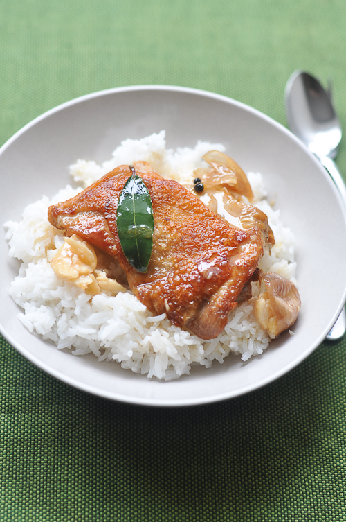 White Chicken Adobo