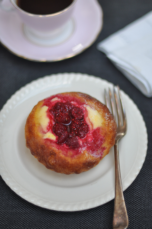 Raspberry and Cream Cheese Brioche