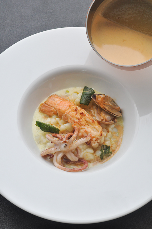 "Seafood ""Risotto"" - without rice!"