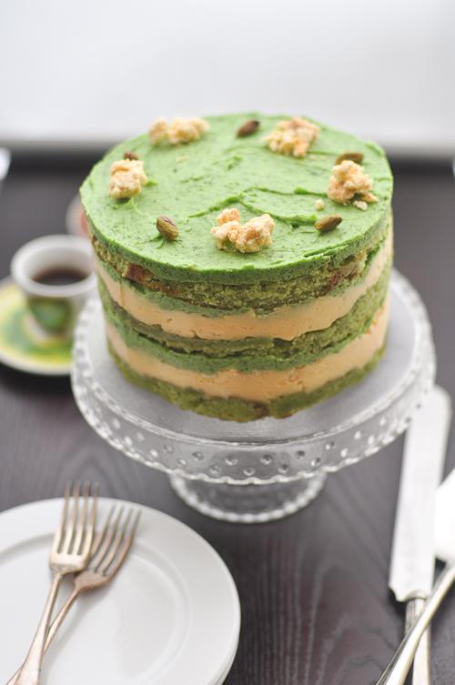 Pistachio Cake From Scratch