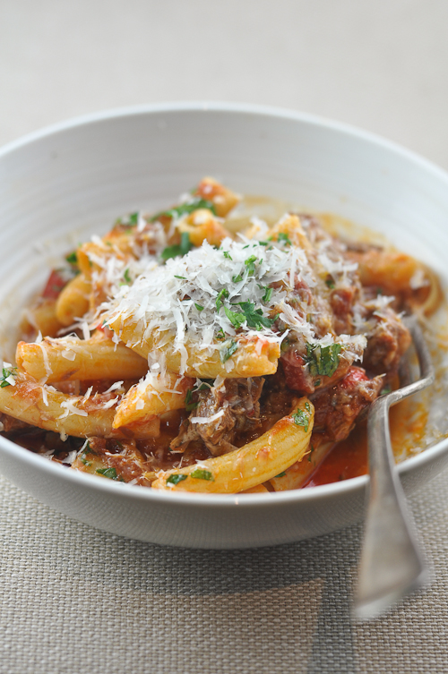 Lamb Ragu with Capsicums