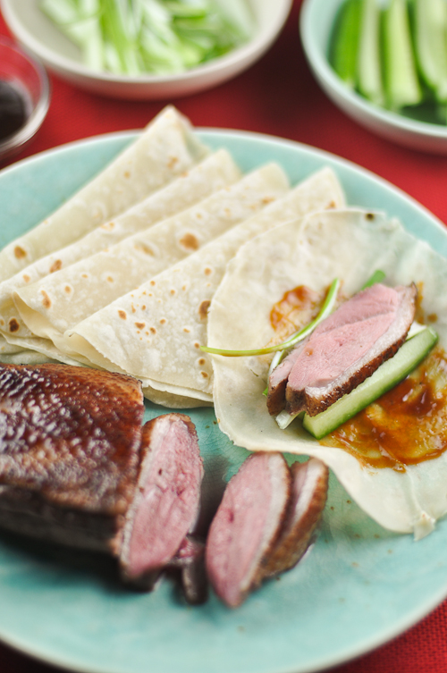 Roast Duck with Mandarin Pancakes