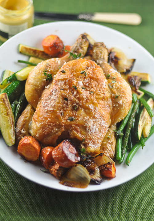Perfectly Cooked Roast Chicken