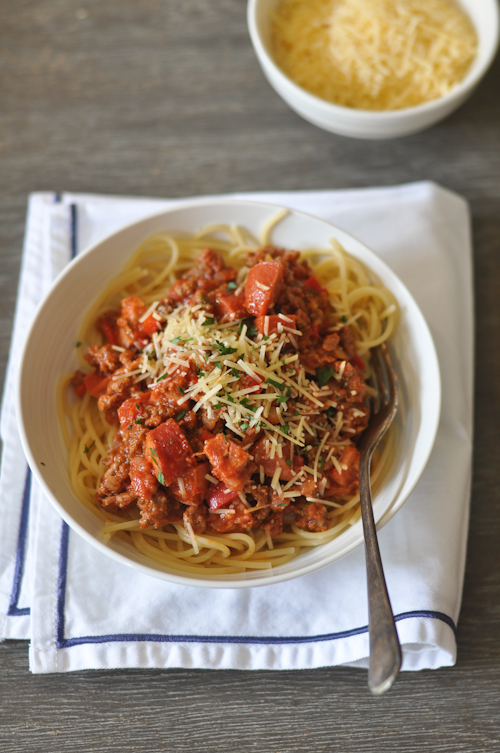 FIlipino Style Spaghetti