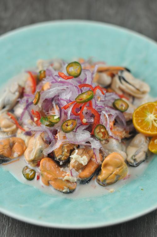 Mussel Kinilaw